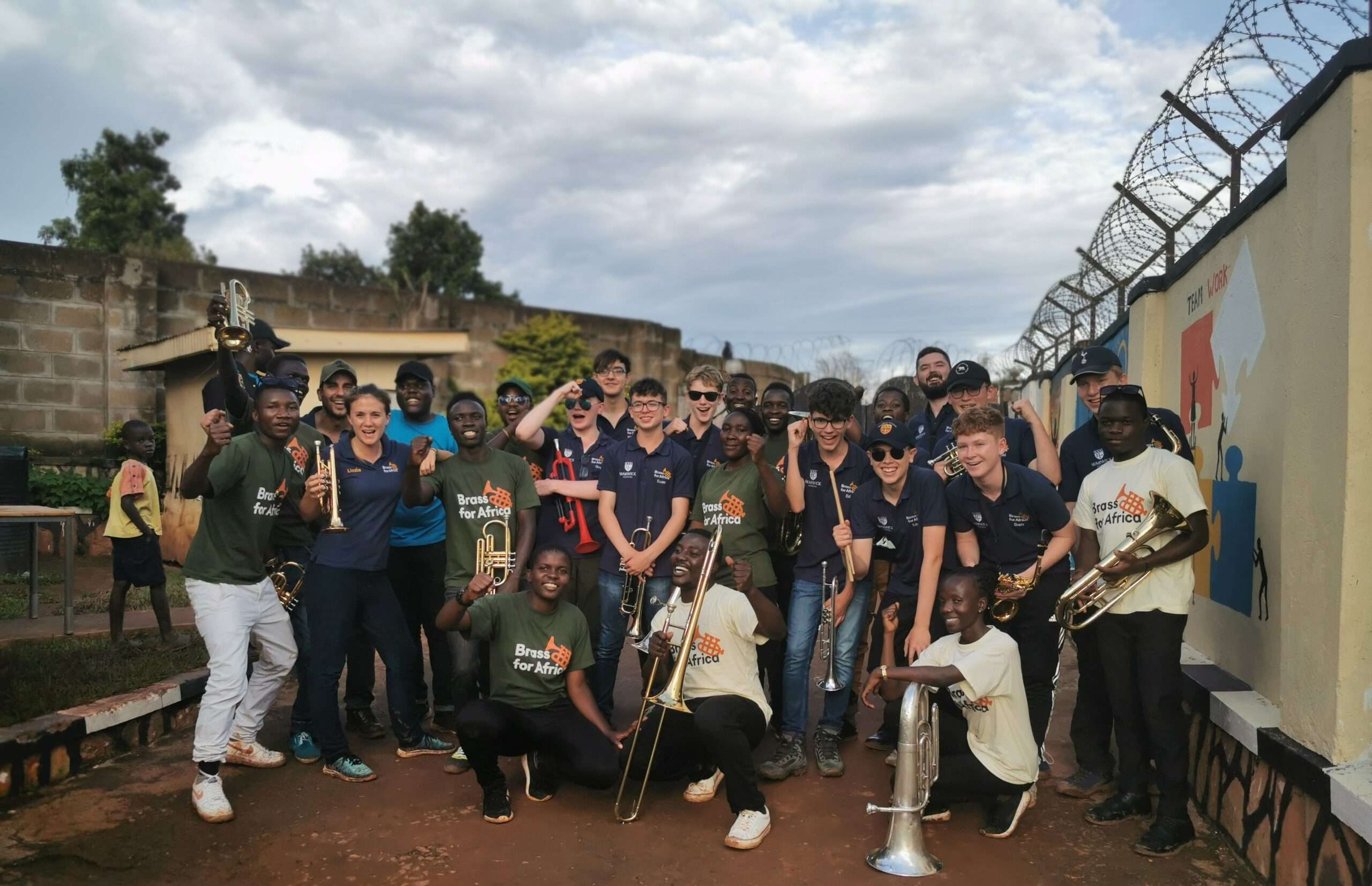 Warwick school tour to uganda - Warwick and BfA teacher band